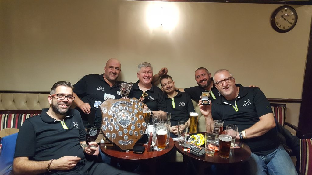 Hedge End Club Darts Team 2017