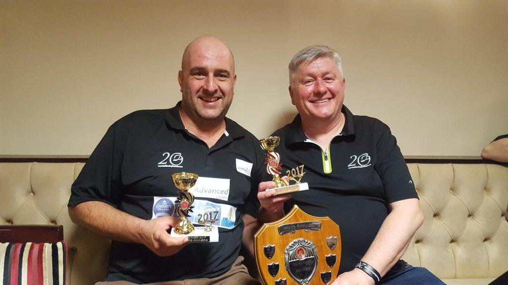 pairs winners 2017 darts