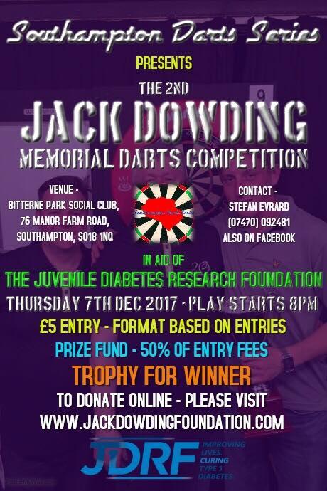 JDF Darts Comp II