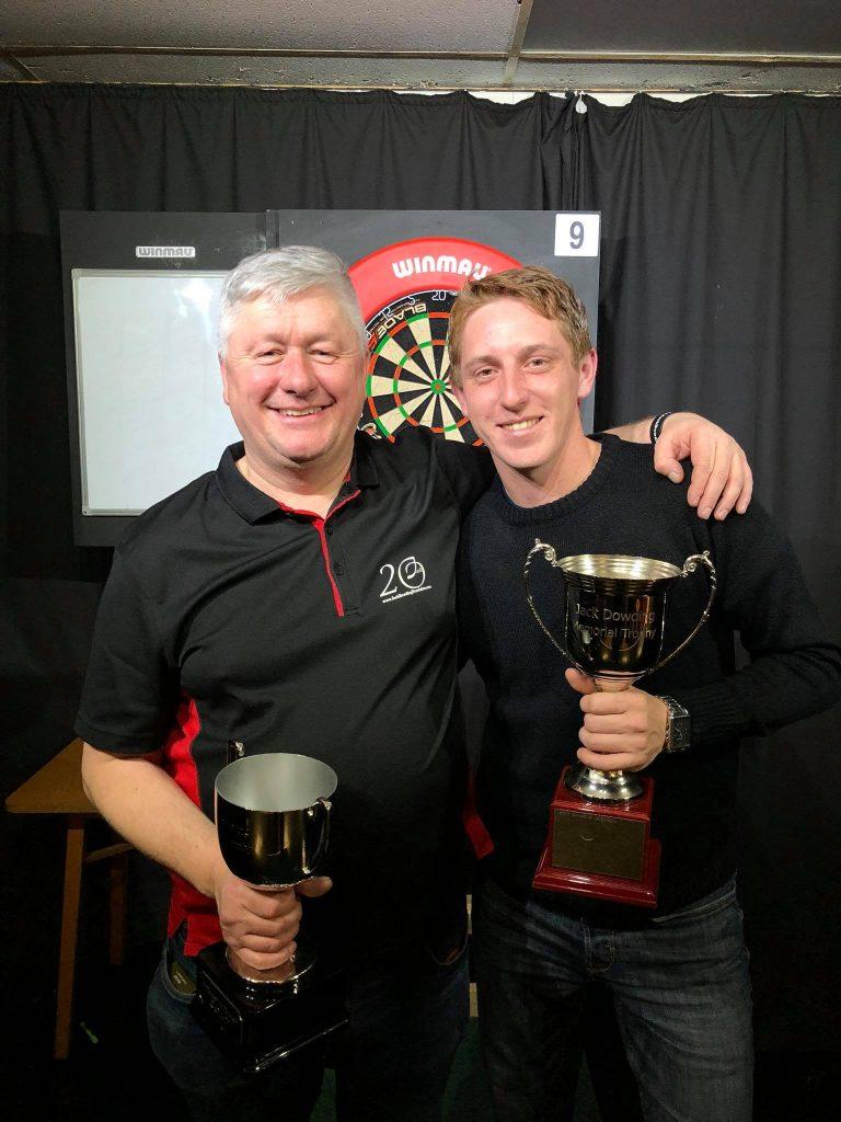JDF Winner darts