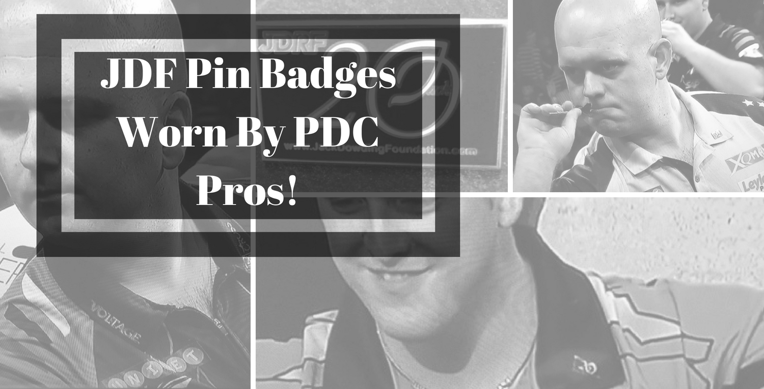 JDF Pin Badges Worn By PDC